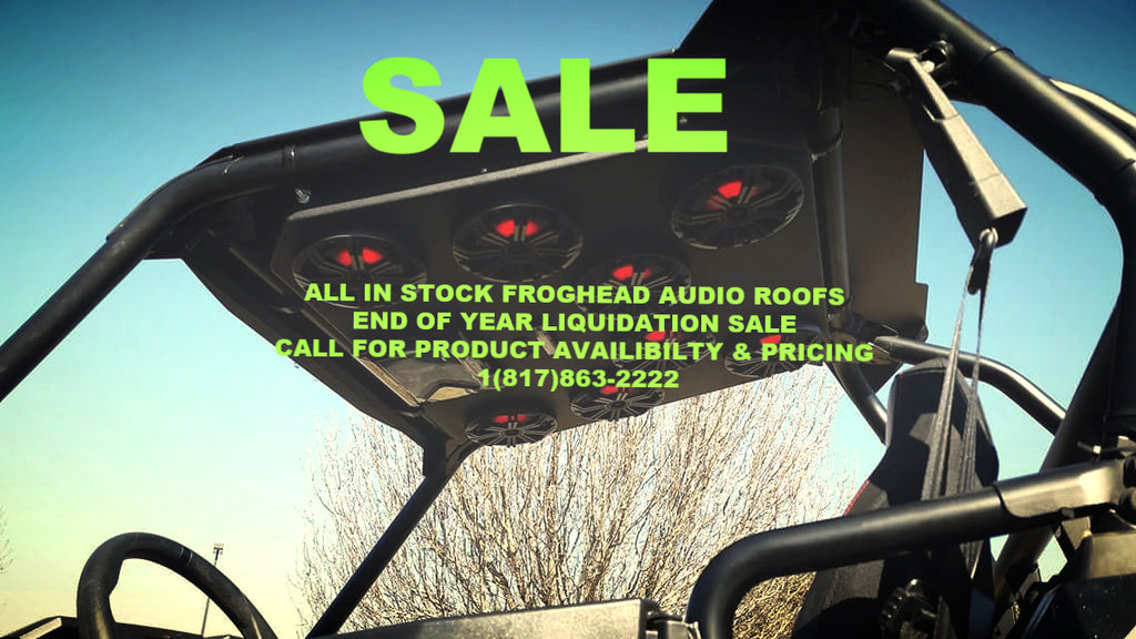 RZR 1000 Roof 3L Froghead