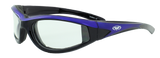 Hawkeye Color Frames, Foam Padded, Clear Lense
