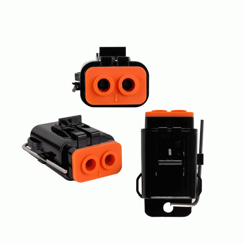 Waterproof Dual ATC Fuse Holder -Up to 8GA 80 Amp