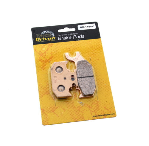 Race Driven 2015 Can-Am Maverick Max XDS-DPS 1000 Rear Severe Duty Brake Pads RD118SV