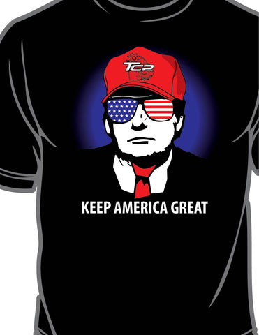 """Keep America Great"" Trump Unisex T-shirt"