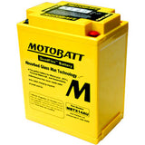 Continental Motobatt Powersports Battery, MBTX14AU