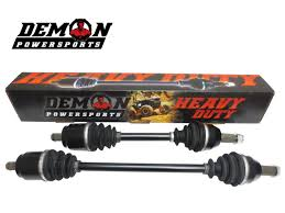 Can-Am Commander +6 FRONT LEFT Axle - Demon HD