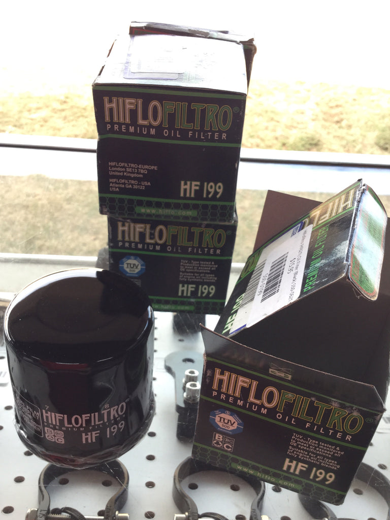 Hiflofiltro Oil Filter, Polaris - HF199