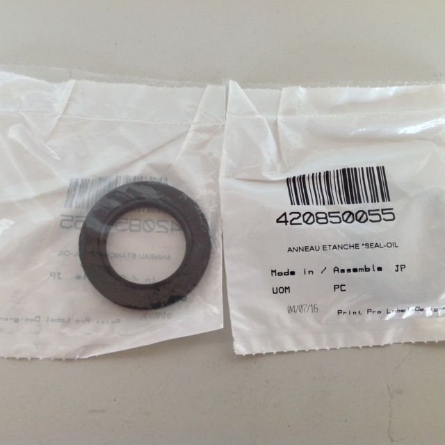 OIL SEAL, Can Am OEM 420850055