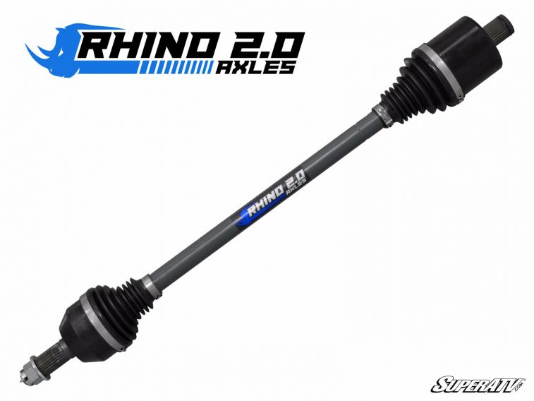 "Polaris RZR 1000/900, General, & RZR S 7-10"" FRONT LEFT/ RIGHT Heavy Duty Extended Length Axles - Rhino 2.0"
