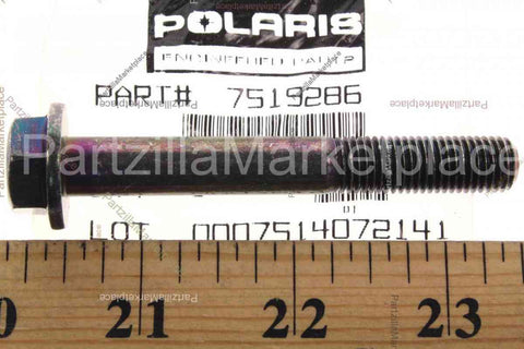 1.25x7 HXFL Screw, Polaris OEM 7519286
