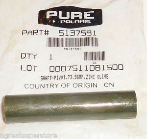 73.96mm Pivot Shaft, Polaris OEM 5137591