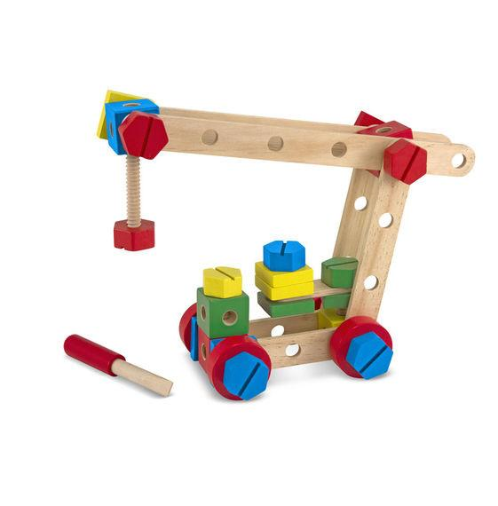 Set para construcción - Melissa & Doug - Construction set in a box