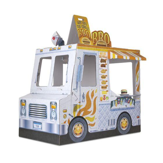 CAMION DE COMIDA DETALLES INTERIORES - MELISSA & DOUG - FOOD TRUCK INDOOR PLAYHOUSE