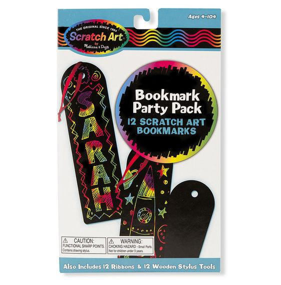 BOOKMART SCRATCH ART PARTY PACK
