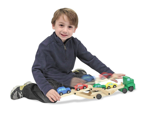Transportador de autos - Melissa & Doug - Car transporter