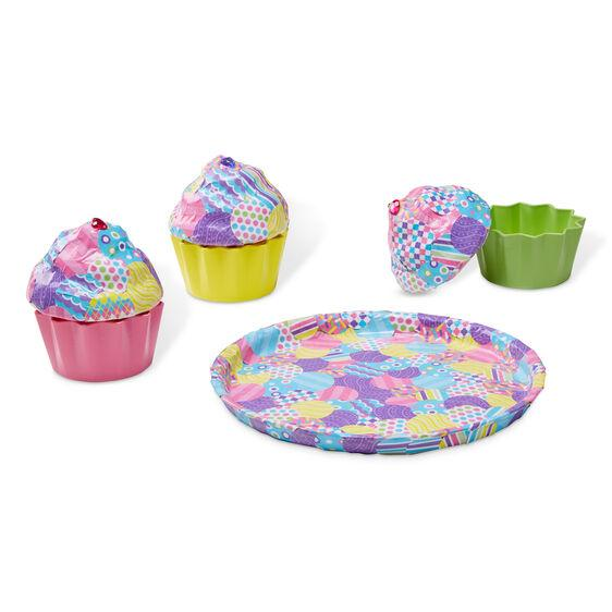 DECORA FACIL TU PASTELILLO - MELISSA & DOUG - DECOUPAGE MADE EASY DELUXE CRAFT SET/ CUPCAKES