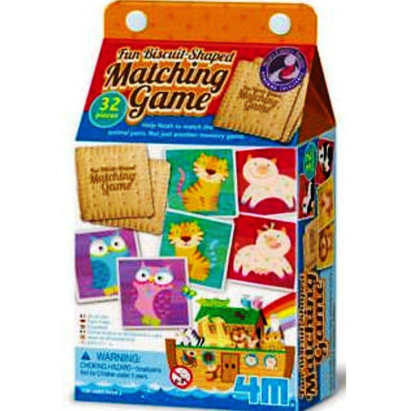 FUN BISCUIT SHAPED MATCHING GAME - NOAH'S ARK