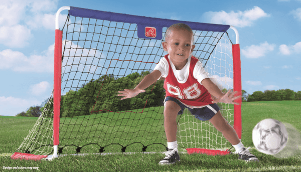 3 IN 1 SOCCER, HOCKEY AND PITCHBACK GOAL