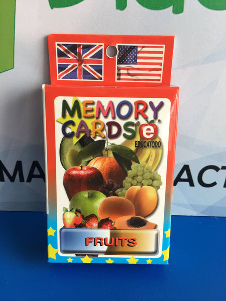 MEMORY CARDS FRUITS