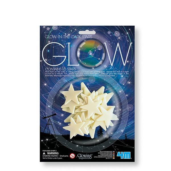 GLOW IN THE DARK STARS- ESTRELLAS FOSFORESCENTES
