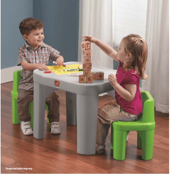 JUEGO DE MESA Y SILLAS MIGHTY MY SIZE / MIGHTY MY SIZE TABLE AND CHAIRS SET