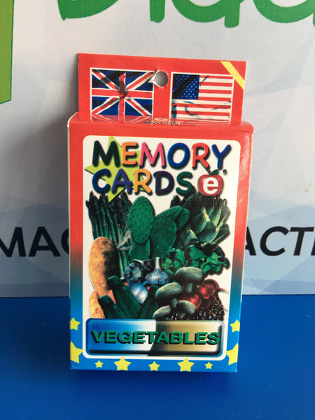 MEMORY CARDS VEGETABLES