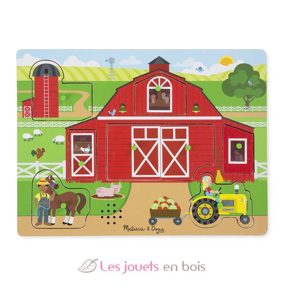 Around the Farm - MELISSA AND DOUG - ROMPECABEZAS DE SONIDOS