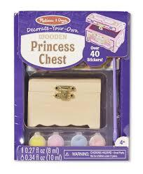 Cofre de princesa - Melissa & Doug - Princess Chest