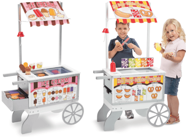 Snacks & Sweets Food Cart - MELISSA AND DOUG - CARRO DE BOCADILLOS Y DULCES