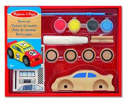 Auto de Carreras para colorear - Melissa & Doug - Race Car
