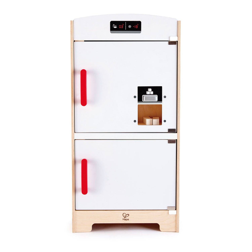 WHITE FRIDGE-FREEZER -  HAPE  -