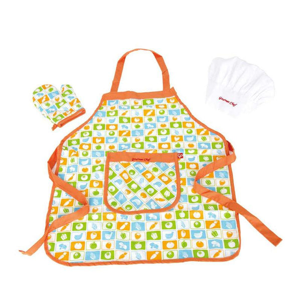 CHEF'S APRON SET -  HAPE  - SET DE DELANTAL DEL CHEF