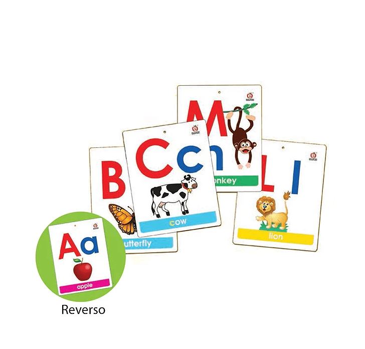 MEGA FLASH CARDS ALPHABET & ASSOCIATION