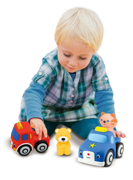 Vehiculos desarmable -Melissa & Doug- Pop Blocs Vehicles