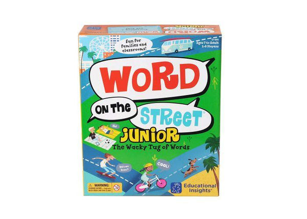 PALABRAS EN LA CALLE JR - WORD ON THE STREET® JUNIOR