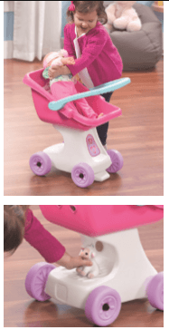 LOVE AND CARE DOLL STROLLER