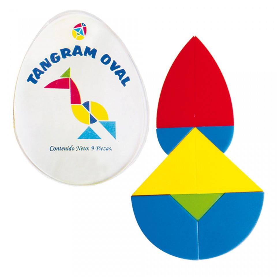 TANGRAM OVAL 1 JUEGO