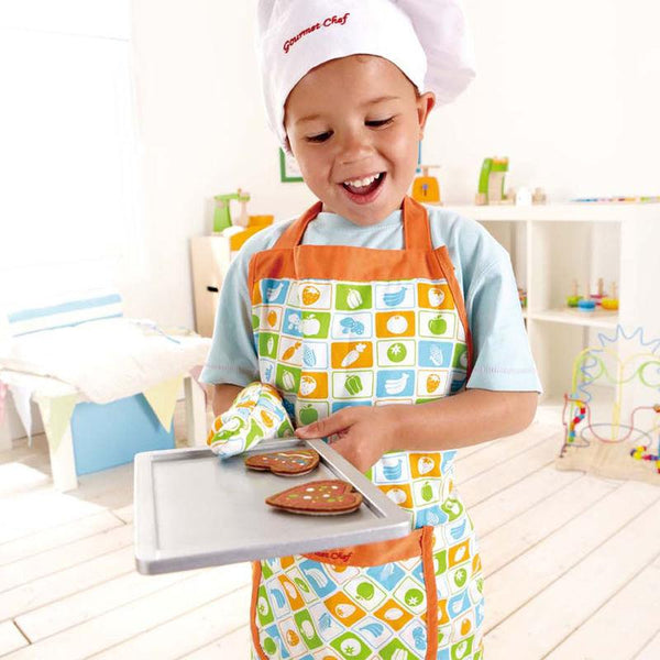 SET DE DELANTAL DEL CHEF  -  HAPE  -  CHEF'S APRON SET