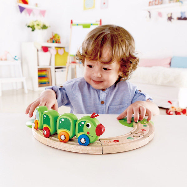 TREN ORUGA -  HAPE  - CATERPILLAR TRAIN SET