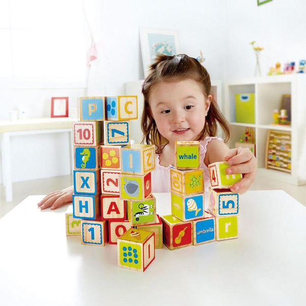 BLOQUES ABC - HAPE - ABC BLOCKS