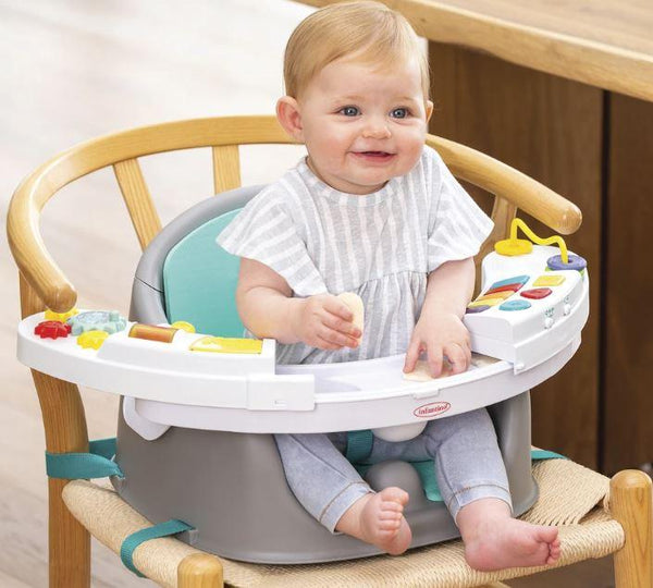 MUSIC & LIGHTS ASIENTO Y ELEVADOR 3 EN 1 - INFANTINO - MUSIC & LIGHTS 3-IN-1 DISCOVERY SEAT & BOOSTER
