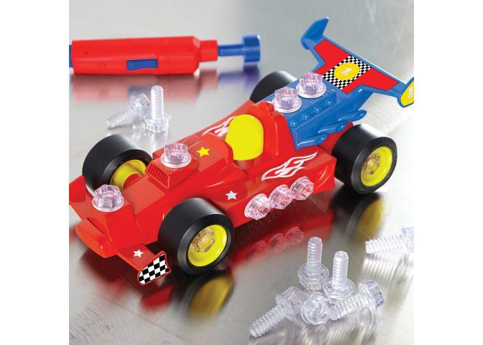 JUEGO DE DISEÑO AUTO DE CARRERAS - DESIGN & DRILL POWER PLAY- RACE CAR