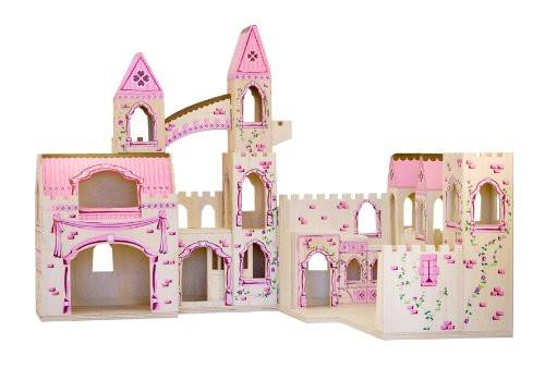 Castillo de princesa plegable - Melissa and Doug - Folding Princess Castle