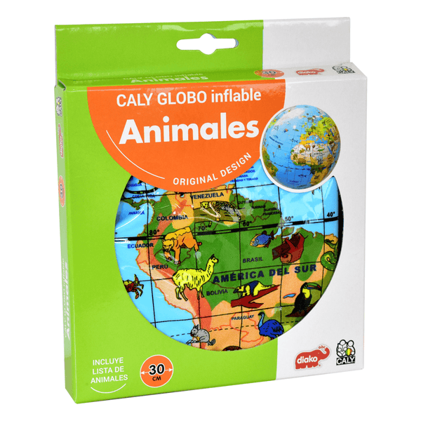 CALY GLOBO INFLABLE ANIMALES