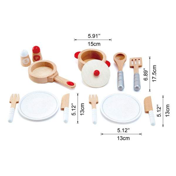 COOK & SERVE SET -  HAPE  -