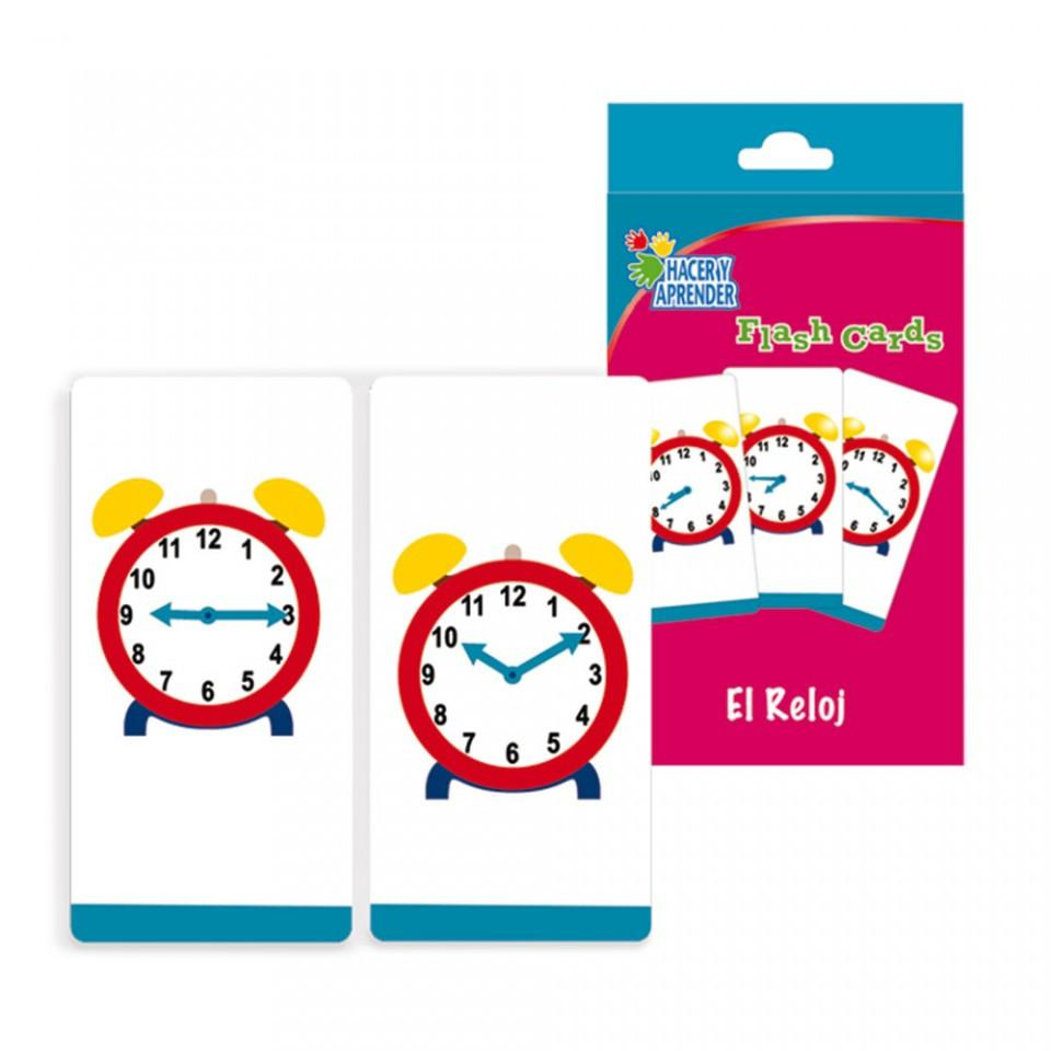 FLASH CARDS RELOJ