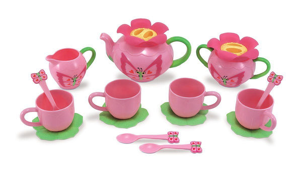 Juego de Té Mariposa - Melissa & Doug - Bella Butterfly Pretend Play Tea Set