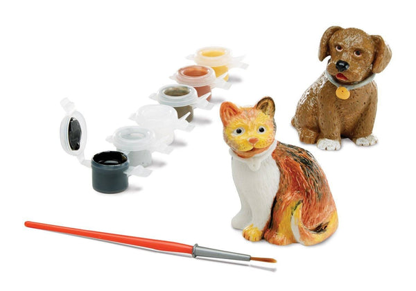 Decora a tu gusto, Mascotas - Melissa & Doug - Pet figurines