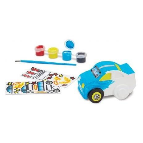 Alcancía de Auto de Carreras para colorear - Melissa & Doug - Race Car Bank
