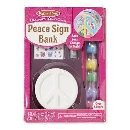 Alcancia de Paz para Colorear  - Melissa & Doug - Peace Bank