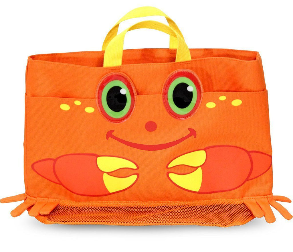 Bolsa de playa -Melissa & Doug- Crab tote bag