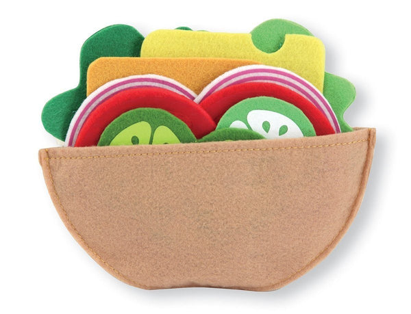 Sandwich de fieltro - Melissa & Doug - Felt food sandwich set