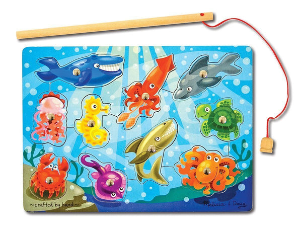Juego magnetico de pesca - Melissa & Doug - Magnetic wooden game fishing